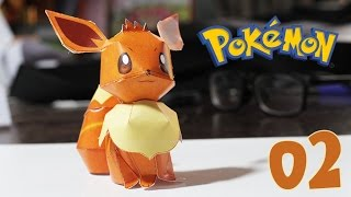 Pokemon - How to papercraft Pokémon Eevee # 02 design by Yoshiny Yo
