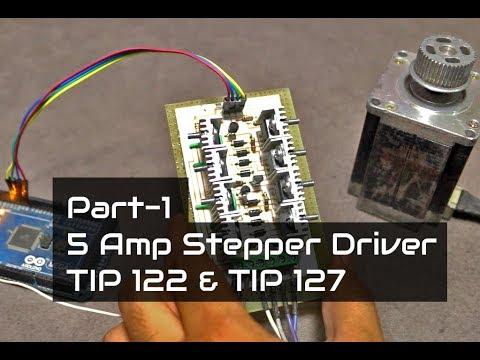 5 Amp Stepper Motor Driver - Part 1