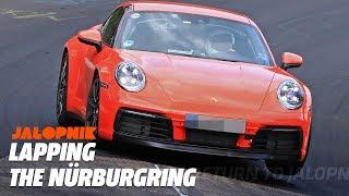 Watch The 992 Porsche 911 Lap The Nürburgring