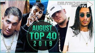TOP 40 Deutschrap MONATSCHARTS AUGUST 2019