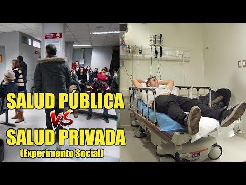 Salud Publica vs Salud Privada | Experimento Social - La Vida Del Desvelado