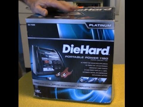 Portable Car Jump Starter >> Sears Diehard Charger Portable Power 1150 Jump Start ...