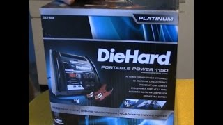 Sears Diehard Charger Portable Power 1150 Jump Start Christmas Present