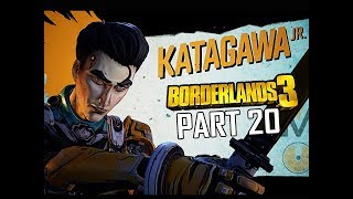 BOSS KATAGAWA JR. - BORDERLANDS 3 Walkthrough Gameplay Part 20 (Let's Play Commentary)