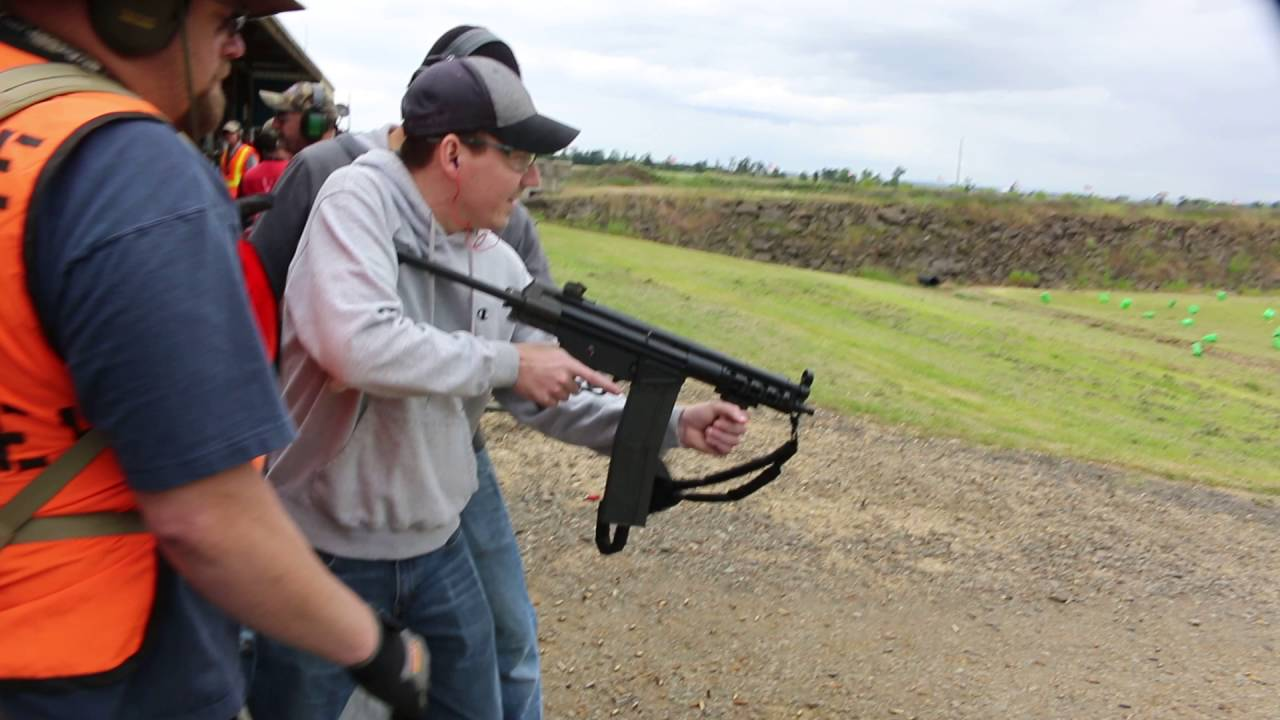 Travis with the HK 51 - 40rd Magazine  308