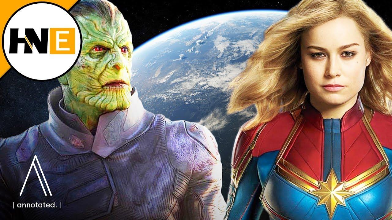 Why The Kree Skrulls Invade Earth In Captain Marvel Youtube