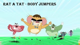 Rat-A-Tat | Chotoonz Kids Funny Cartoon Videos | 'Bodybuilding Jumpers'