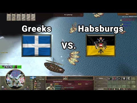 WickedCossack Greek Fish Boom vs. Eaglemut | Wars of Liberty Multiplayer
