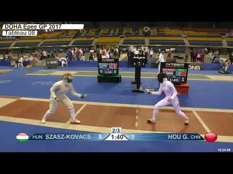 2018 79 F E Individual Doha QAT GP T08 04 red HOU CHN vs SZASZ KOVACS HUN