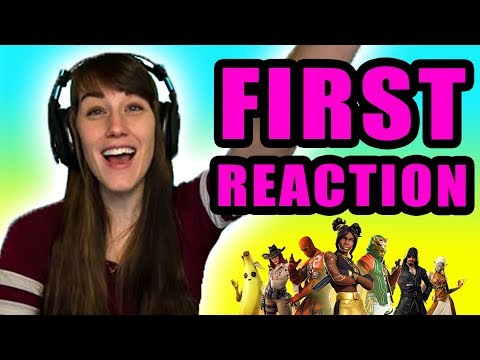 ONE_shot_GURL's First Reaction to Fortnite Season 8!