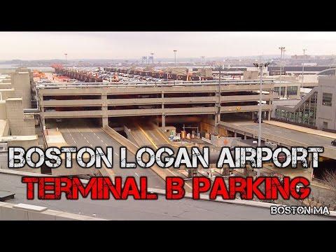 Tour of Boston Logan Airport   Terminal B Parking Garage - Boston MA