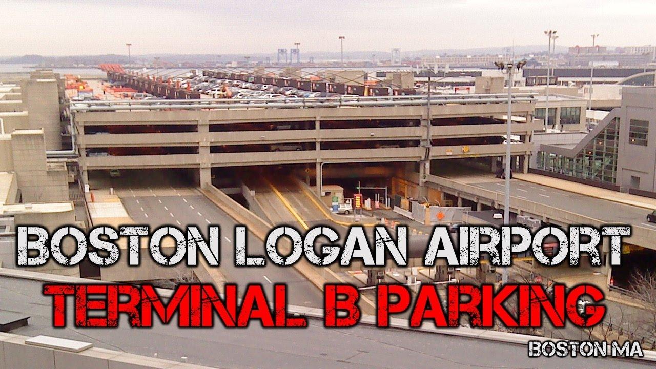Boston Logan Airport Parking >> Tour Of Boston Logan Airport Terminal B Parking Garage Boston Ma