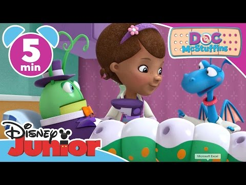 Thumbnail: Doc McStuffins | Leggy Leo | Disney Junior UK