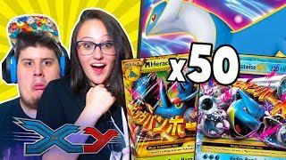TROVO LA FUORISERIE E NON ME NE ACCORGO! 50 BUSTINE XY CON LA MIA RAGAZZA! - Pokémon GCC Online #33