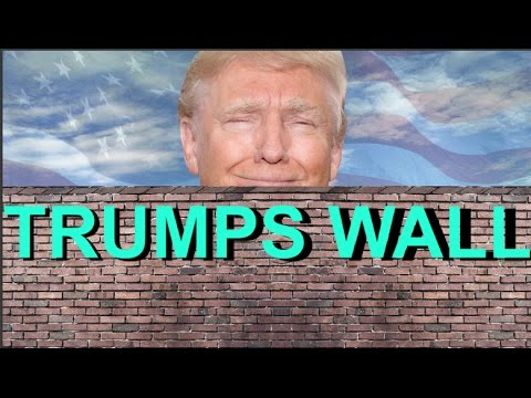 TRUMP'S WALL TO BE MADE OUT OF CARTEL MONEY