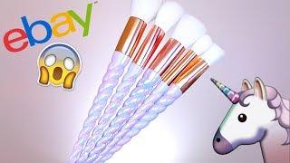 видео Unicorn Make-Up Brushes