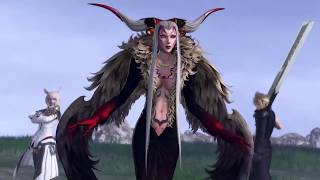 DISSIDIA FINAL FANTASY NT Ultimecia Platinum Rank Gameplay 1
