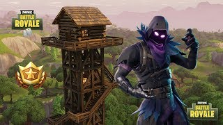 New Raven Skin on Fortnite Battle Royale!