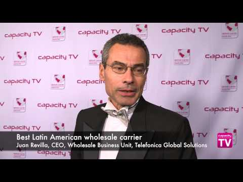 Global Carrier Awards 2014: Best Latin American wholesale carrier, Telefónica Global Solutions