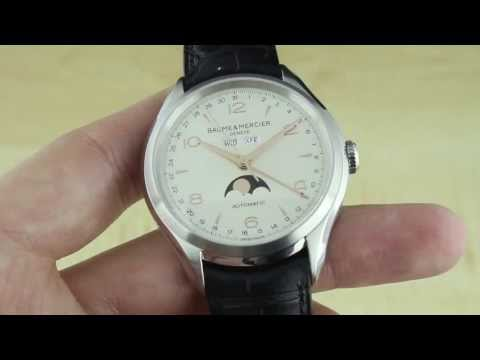 Baume & Mercier Clifton Complete Calendar Watch Review