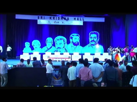 KAMAL HAASAN unplugged @ Sri Krishna Institutions
