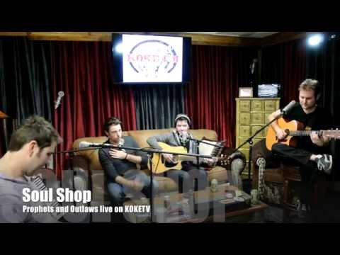 """Prophets and Outlaws perform """"Soul Shop"""" live on KOKE FM"""