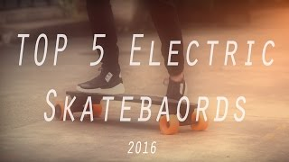 Top 5 CHEAPEST Electric Skateboards/Boosted Boards 2016!