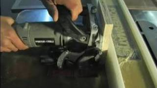 How To Use Basic Woodworking Tools : Using A Biscuit Joiner