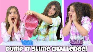 Dump It Slime Challenge - Valentine