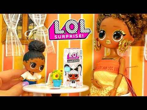 LOL Surprise Dolls New Baby with Playmobil Sets & Unboxings