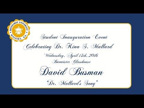David Busman's Song for Dr Mallard