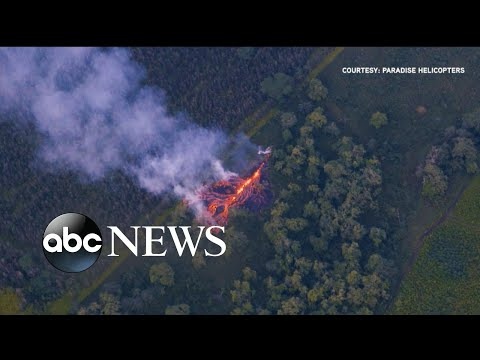 Hawaii facing new volcano fissures that opened overnight