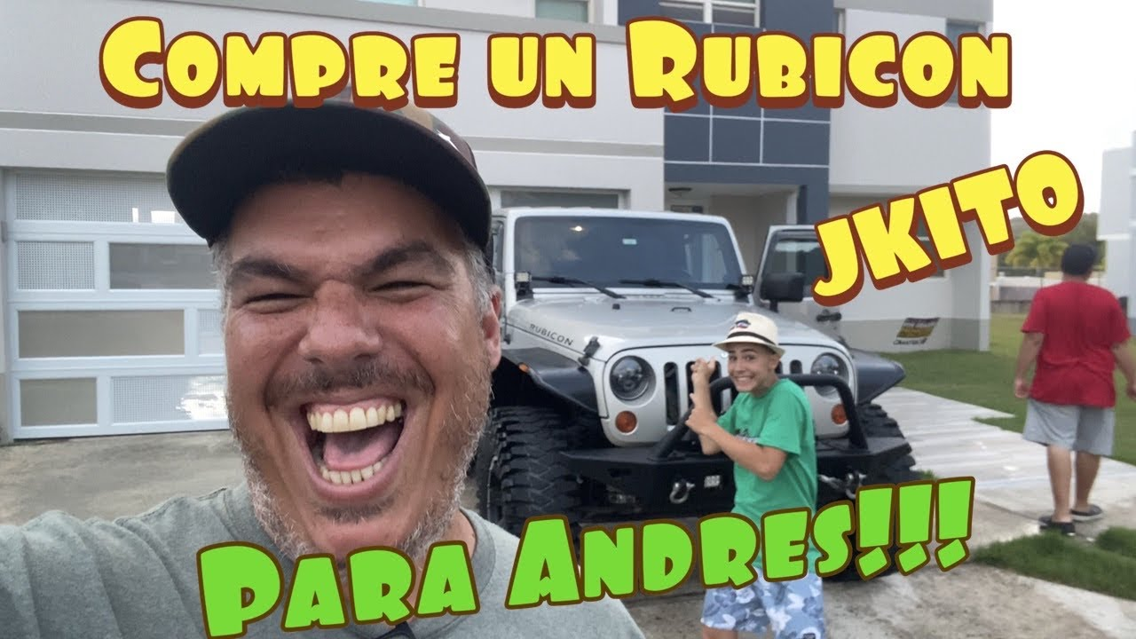 Le Compre un Rubicon a Andres!! By Waldys Off Road