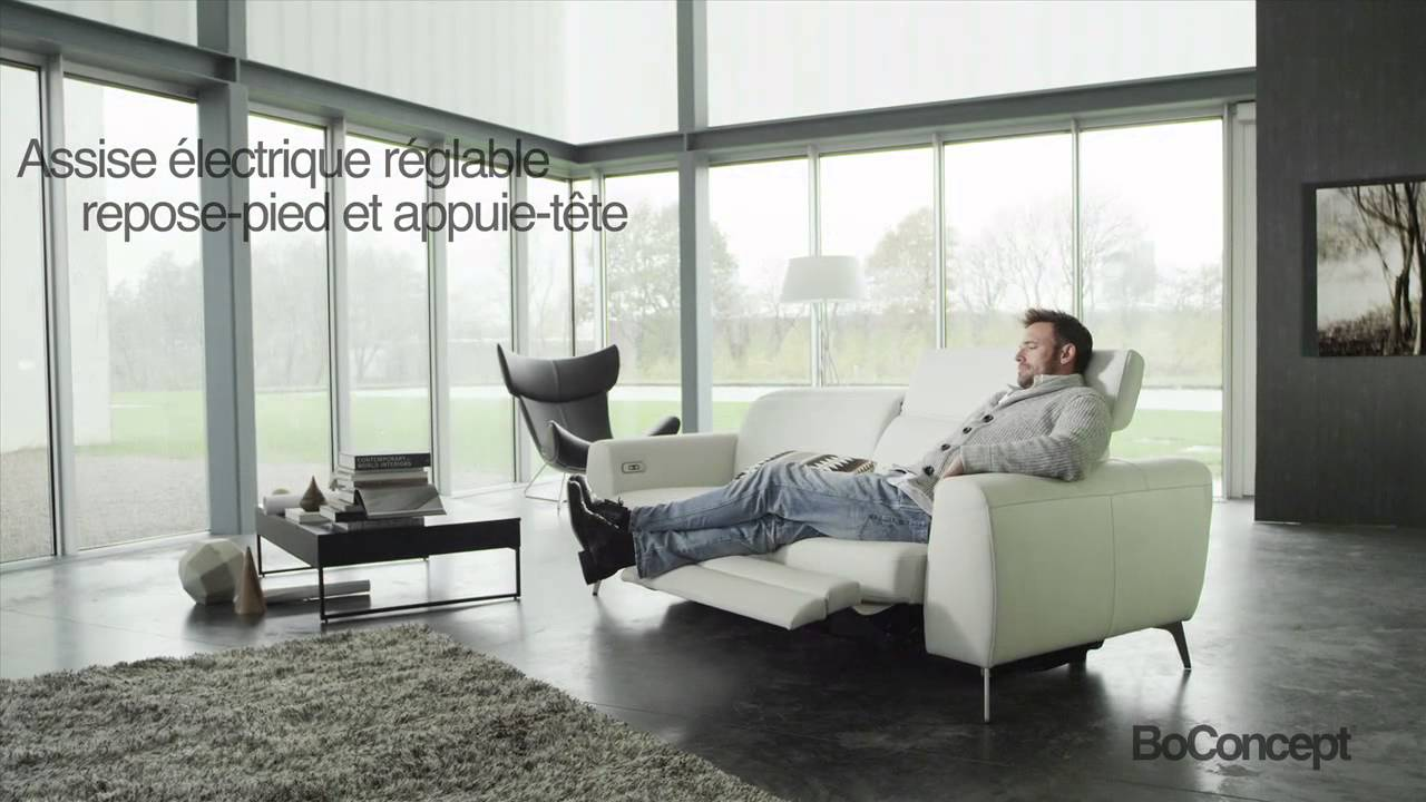 Boconcept madison motion sofa french subtitles youtube for Bo concept