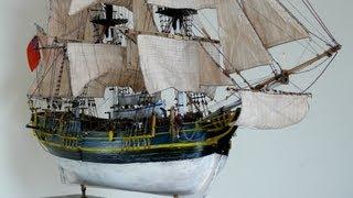 HMS BOUNTY MODEL SHIP