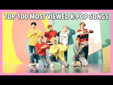[TOP 100] MOST VIEWED K-POP SONGS • OCTOBER 2017