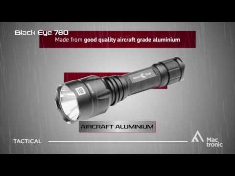 Фенер Mactronic BLACK EYE 780 с ак  батерия | brannik.bg