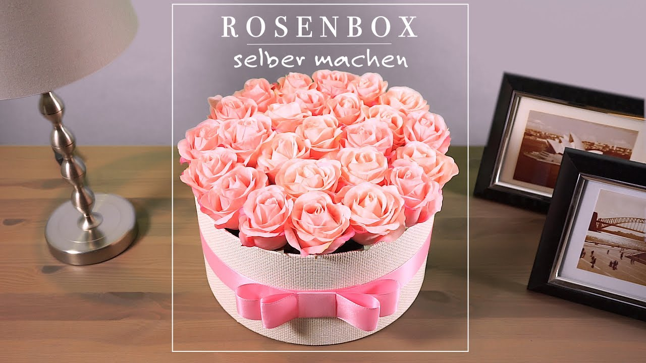 diy rosenbox selber machen youtube. Black Bedroom Furniture Sets. Home Design Ideas