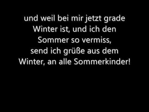 Pohlmann - Wenn jetzt sommer wär (mit Lyrics)
