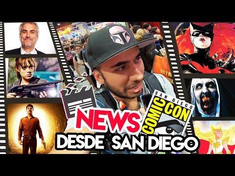 Alfonso Cuarón en NY, Diego Luna en Narcos?, Comic Con PNight y más Combo