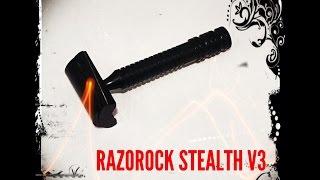 Razorock Stealth V3.0 Shave & Review