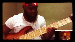 """John P. Kee (featuring Zacardi Cortez) """"I Made It Out"""" 6 Strangs Bass Cover"""