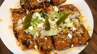 Desayuna conmigo Unas Enchiladas Michoacanas