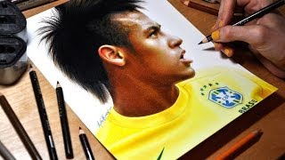 Drawing Neymar Júnior
