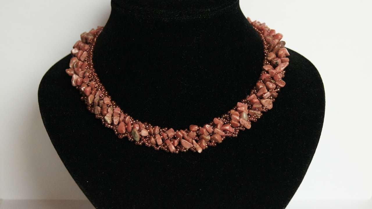 How To Make A Necklace With Natural Stones Diy Crafts Tutorial Guidecentral Youtube