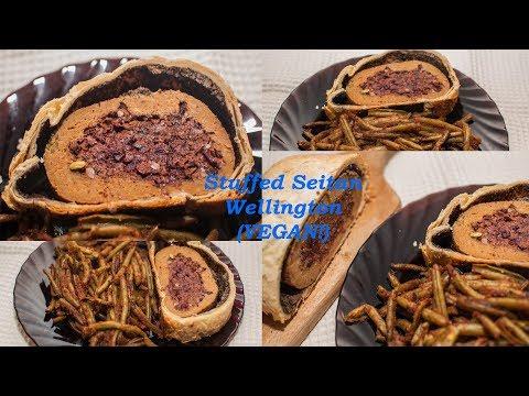 Stuffed seitan Wellington// VEGAN// Vegan Holidays series