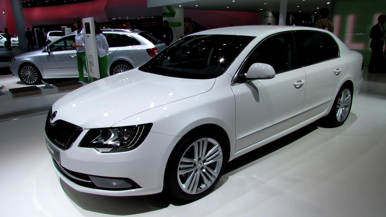 2014 skoda superb greenline exterior and interior. Black Bedroom Furniture Sets. Home Design Ideas
