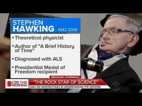 Michio Kaku - Stephen Hawking Tribute