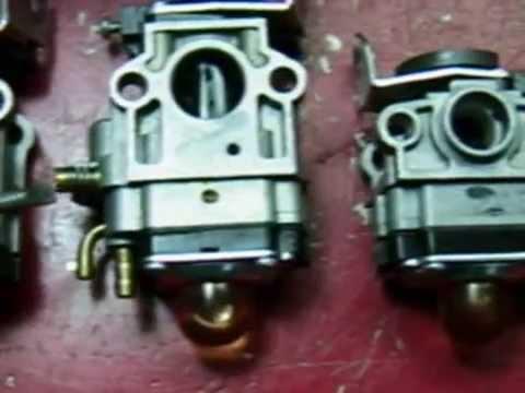 Regulación Carburador Desbrozadora Cortasetos
