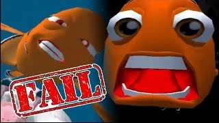 Finding Nemo All Fail Cutscenes | Game Over | Deaths (PS2, GCN)
